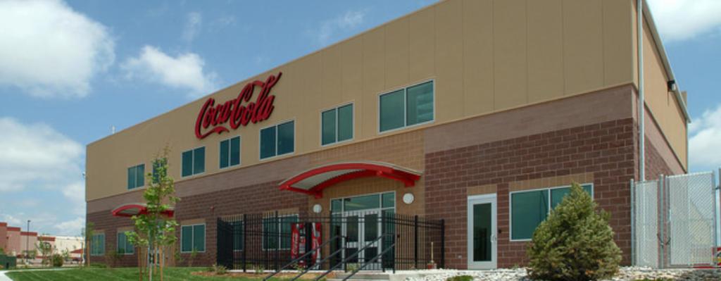 coca cola distribution warehouse built by colarelli construction